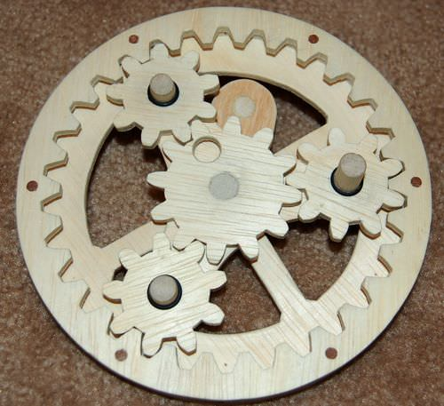 planetary gear ratio