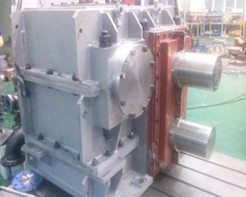 HELICAL GEAR REDUCER 1430L x 1710B x 1406H